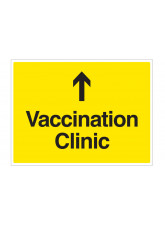 Vaccination Clinic (arrow up)