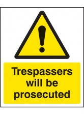 Trespassers Will Be Prosecuted