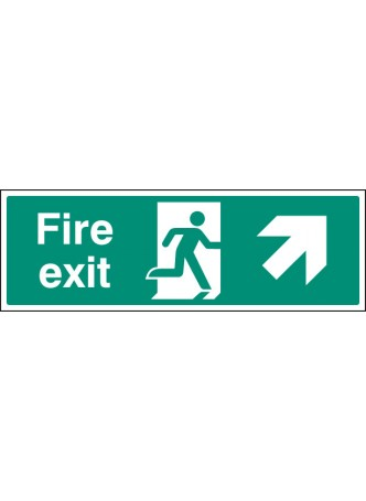 Fire Exit - Up and Right