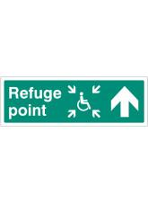 Refuge Point - Arrow Up