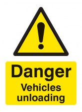 Danger Vehicles Unloading