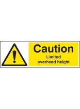 Caution Limited Overhead Height