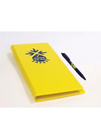 Inspection Check Book Wallet & Pen