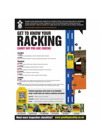 Scaffold Tower Inspection Checklist Poster (A2)