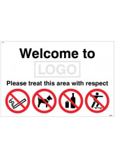 Welcome to (add school name/logo) Please treat this area with respect