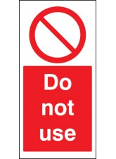 Do Not use - Cover-Up Sign