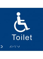 Braille - Disabled Toilet