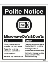 Microwave - Do's & Don'ts