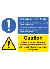 Chilled and Frozen Foods