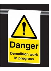 Roll Top - Danger, Demolition Work in Progress