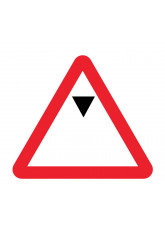 Maximum headroom class R2 Permanent 750mm triangle c/w channelling