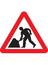 Road Works - Class 1 - 600mm Triangle