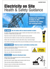 Electricity on Site Poster