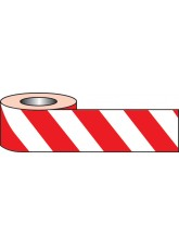 Self Adhesive Hazard Tape - 33m x 50mm - Red/White