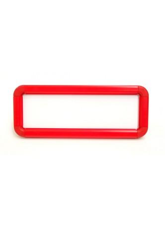 Red Suspended Frames