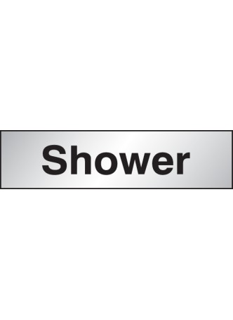 Shower - Engraved Aluminium Effect