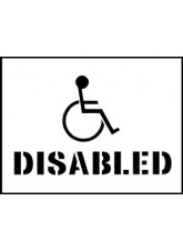 Stencil Kit - Disabled