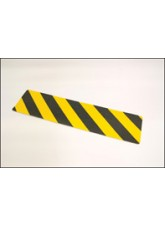 Anti-slip Mat Black/Yellow Chevron - 610mm x150mm