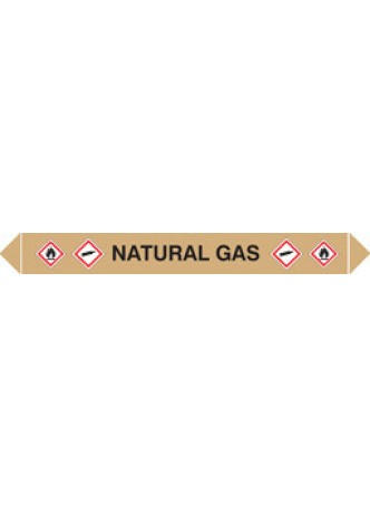Flow Marker (Pack of 5) Natural Gas