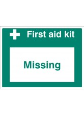 First Aid Kit Missing