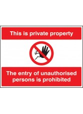 Supplier And Entering On Private Property