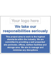 We take our responsibilities seriously - Well Maintained Site