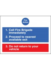 Fire Action for Car Parks